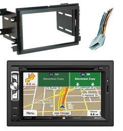 scosche fd1426b dash kit the 2004 up ford double iso double din install dash kit allows you to replace your vehicle s factory stereo and improve the  [ 1600 x 1600 Pixel ]
