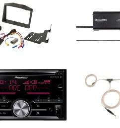 harness auto pioneer bluetooth cd radio siriusxm tuner scosche polaris dash kit on ford stereo wiring  [ 2100 x 1500 Pixel ]
