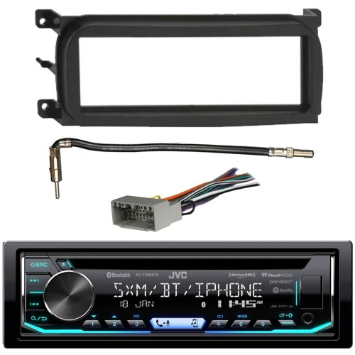 small resolution of the installation kit allows easy mounting of your single din radio in select 1998 2009 chrysler dodge jeep and plymouth vehicles