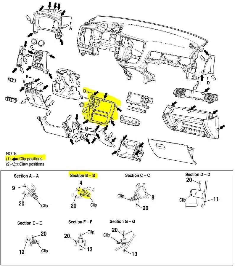 Como desmontar o painel do seu carro para instalar central