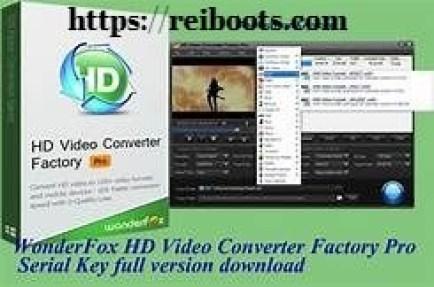 HD Video Converter Factory Pro 18.9 Crack + License Key 2020