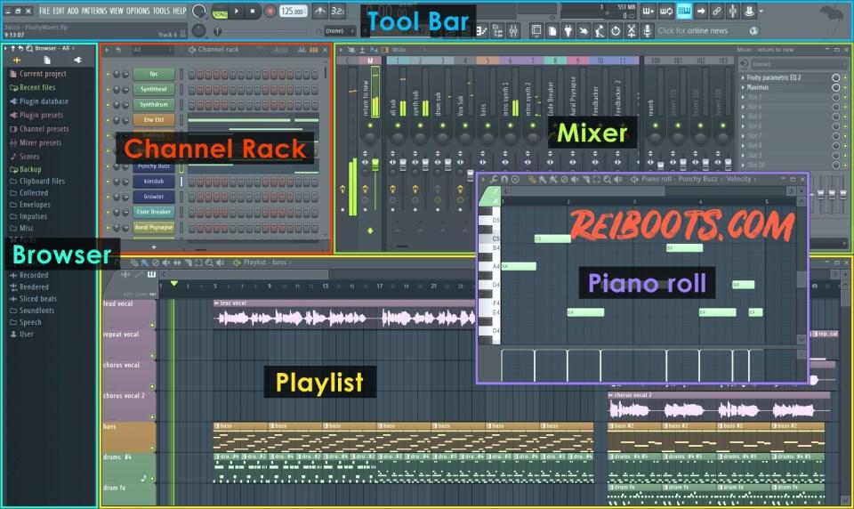 FL Studio 20.1.2 Build 887 Crack With Keygen & Patch Is Here!
