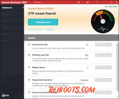 System Mechanic Pro 18.5.1.278 Crack Free Activation Key Form Torrent Is Here