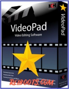 VideoPad Video Editor 8.45 Crack With Free Registration Code Download