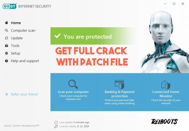 ESET Internet Security 13.1.21.0 License Key Full Version With Patch