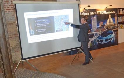 BMW Konzernstratege Ludwig Hohenlohe erläutert das Programm BMW 360°