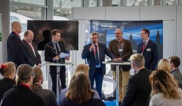 Podiumsdiskussion, Moderator: Ralf Geißler; Foto Andreas Reichelt