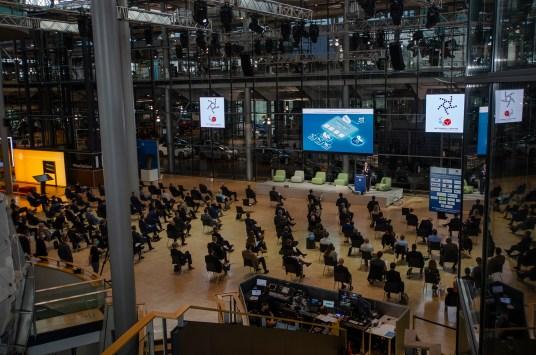 Mitteldeutsches Logistikforum und ACOD Kongress in der Gläsernen Manufaktur von Volkswagen in Dresden