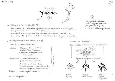 Langage Faëric - concept art 1