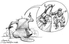 Les nobles et redoutables ancetres des rongeux