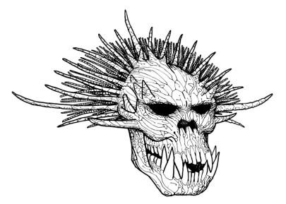 Troll Skull : rendu 1