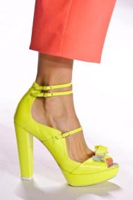 Add a pop of colour through your shoes