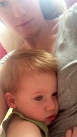 Still loving the baby cuddles.