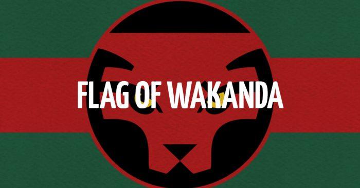Flag of Wakanda. Free Wakanda Graphics