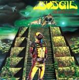 Budgie Nightfligth album cover by Derek Riggs