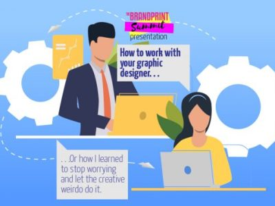 How to work with your graphic designer.