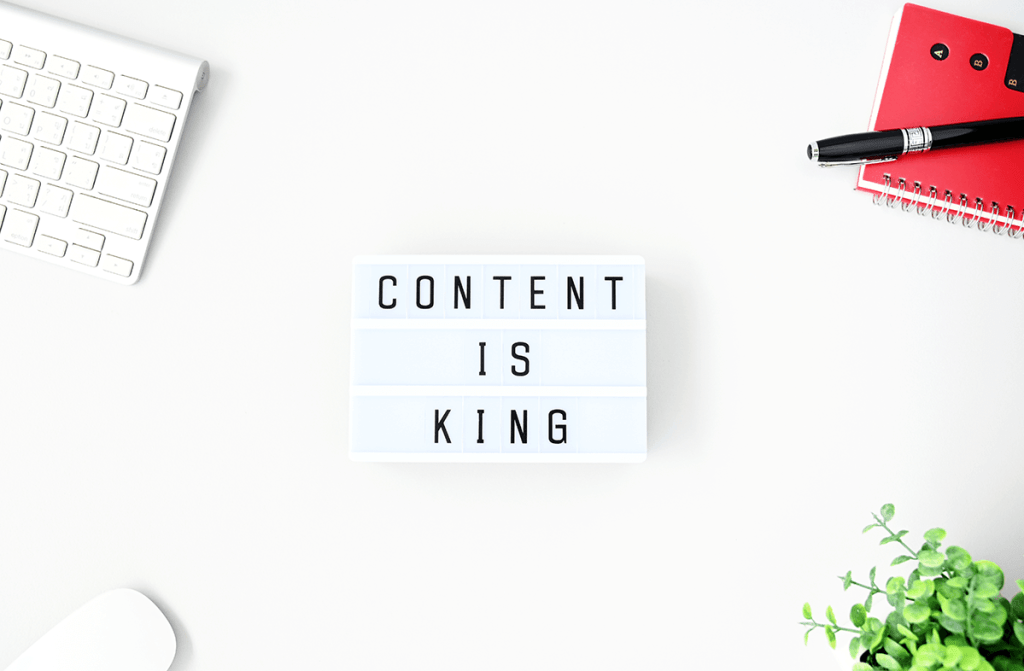 Content is King for a digital agency