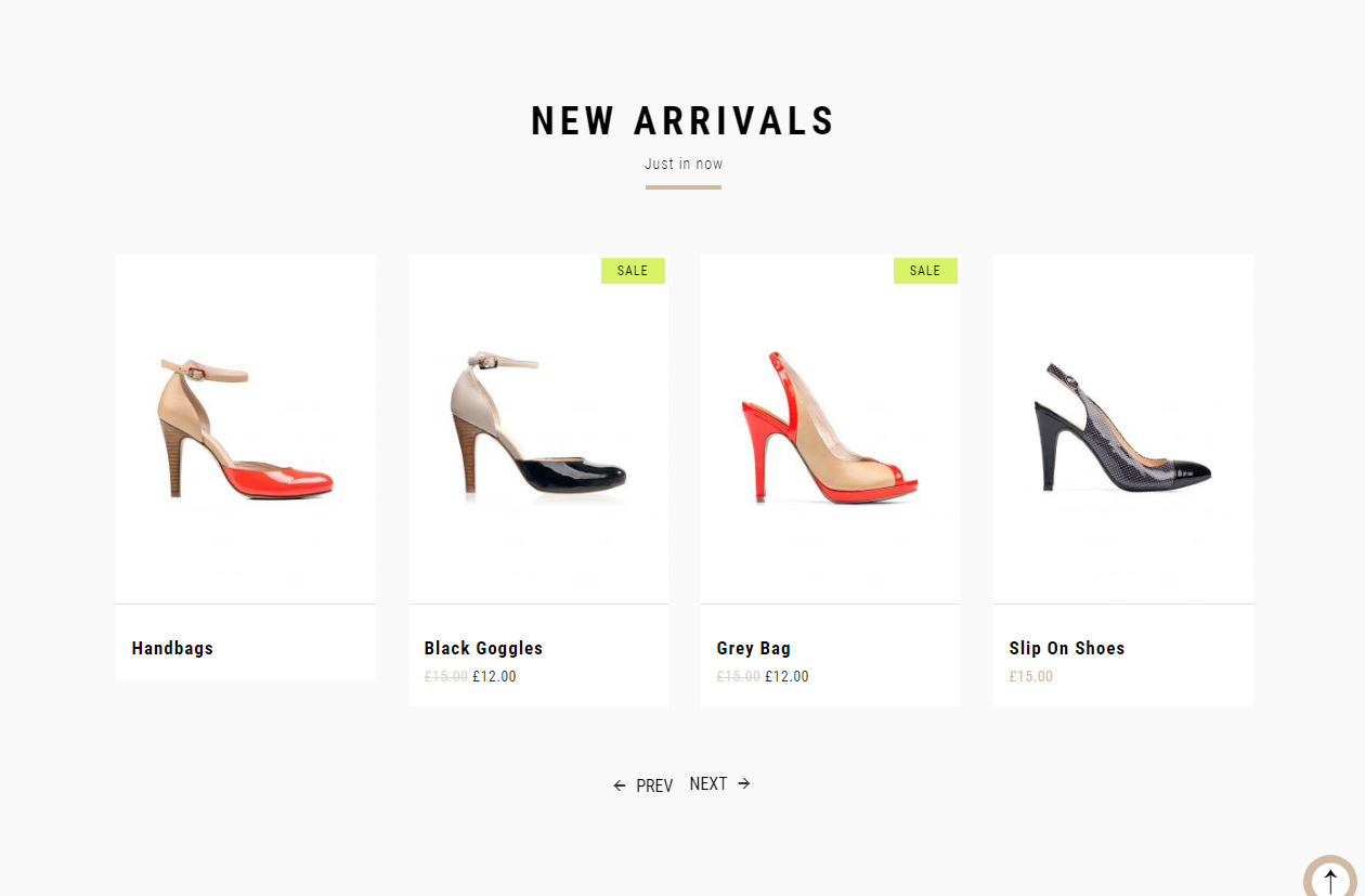 Tema loja virtual wordpress woocommerce para calçados