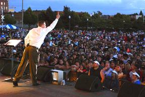 Reid Saunders Salem Riverfest preview