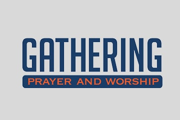 prayer page Gathering button