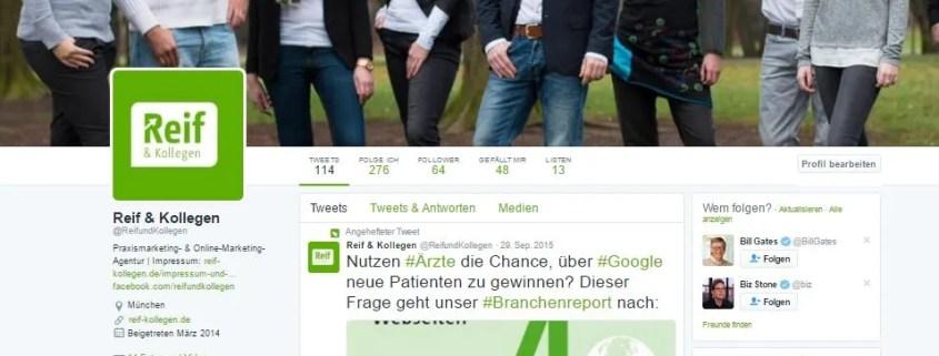 Die richtigen Social Media Netzwerke - Reif & Kollegen GmbH München