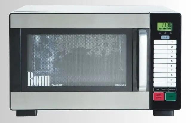 bonn performance range 1000w commercial microwave oven