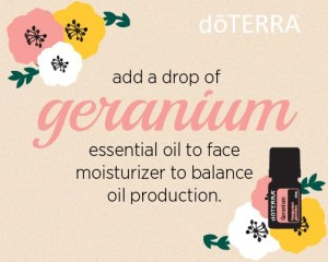 how to use geranium in skincare