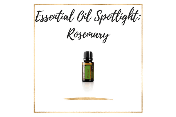 doTERRA Rosemary Essential Oil Uses & Recipes
