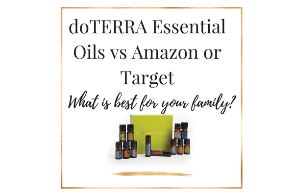doterra essential oils vs amazon or target