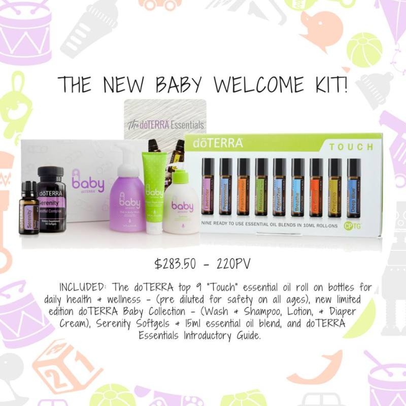 the new baby welcome kit