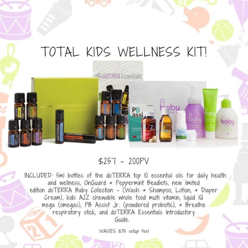 total kids wellness kit