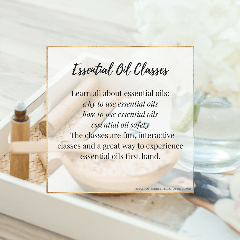 Essential oil classes, orange county, california