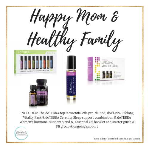 happy mom essential oil kit