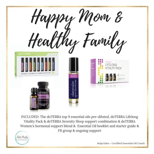 happy mom essential oil kit