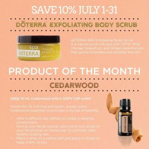 july 2018 doterra promo - product of the month