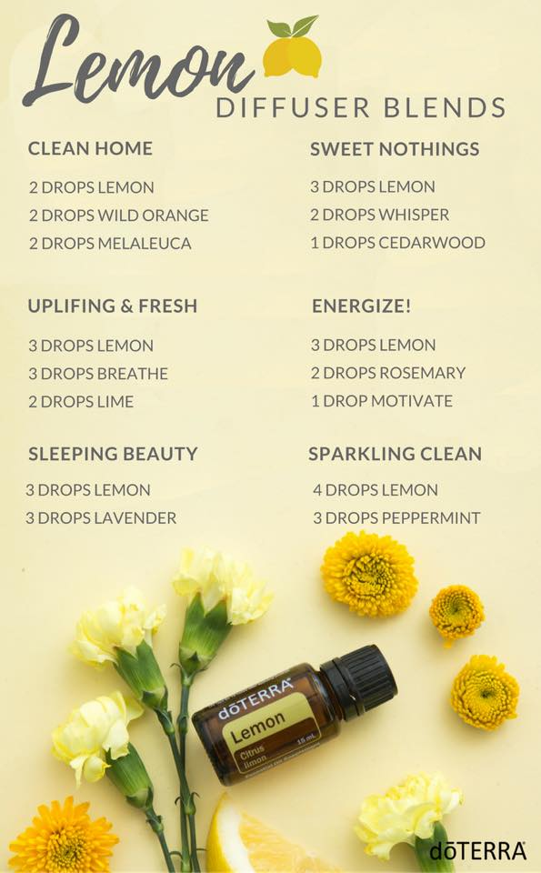 lemon diffuser blends