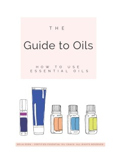 essential oil guide opt in