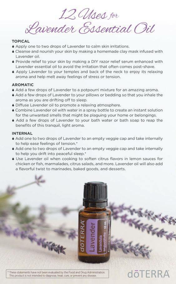 lavender essential oil uses