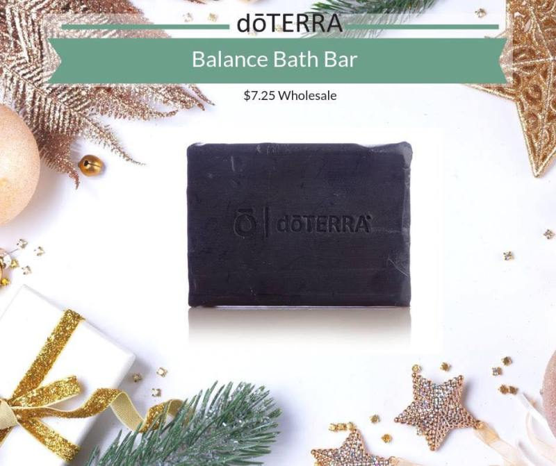 balance bath bar doterra holiday