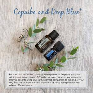 copaiba and deep blue