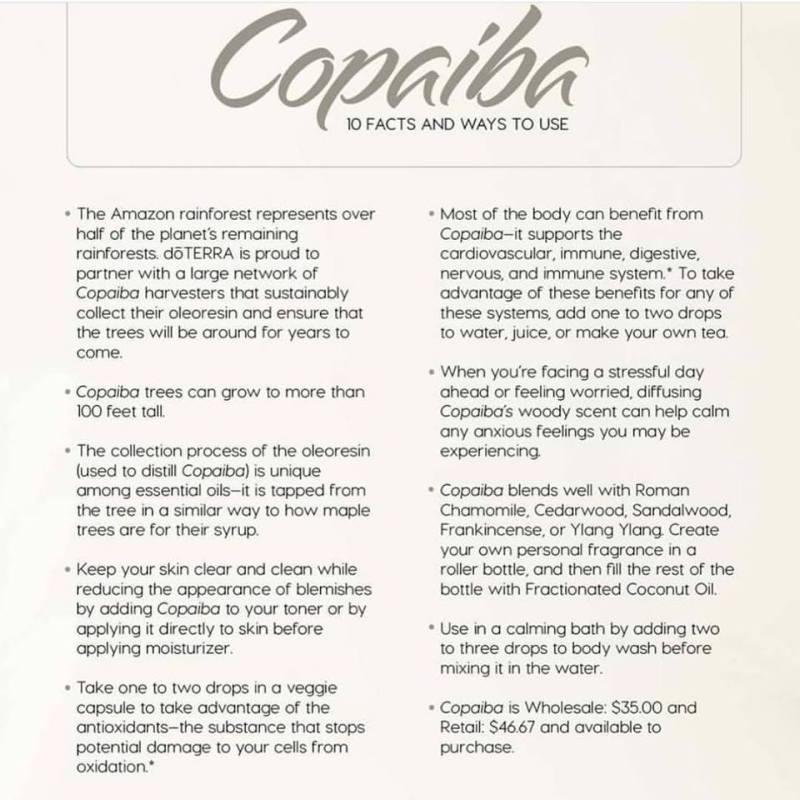 copaiba uses