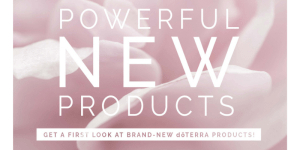 doterra new products