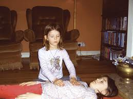 Reiki child on child