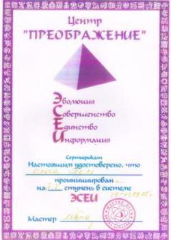 4-5 ступень ЭСЕИ