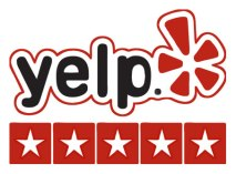 Yelp Logo stars