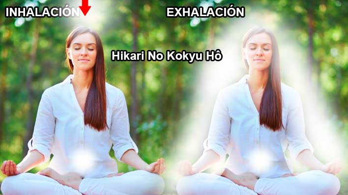 Hikari No Kokyu Hô – Método de la respiración luminosa.