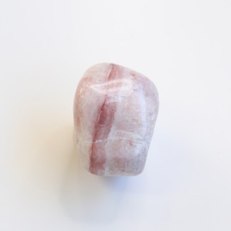 reiki charged pink calcite