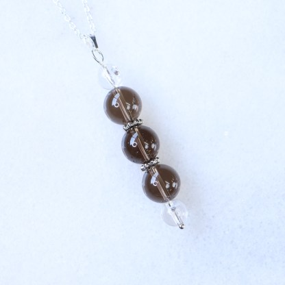 reiki charged smoky quartz bead