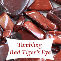 tumbling red tigers eye