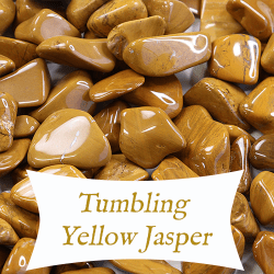 tumbling yellow jasper